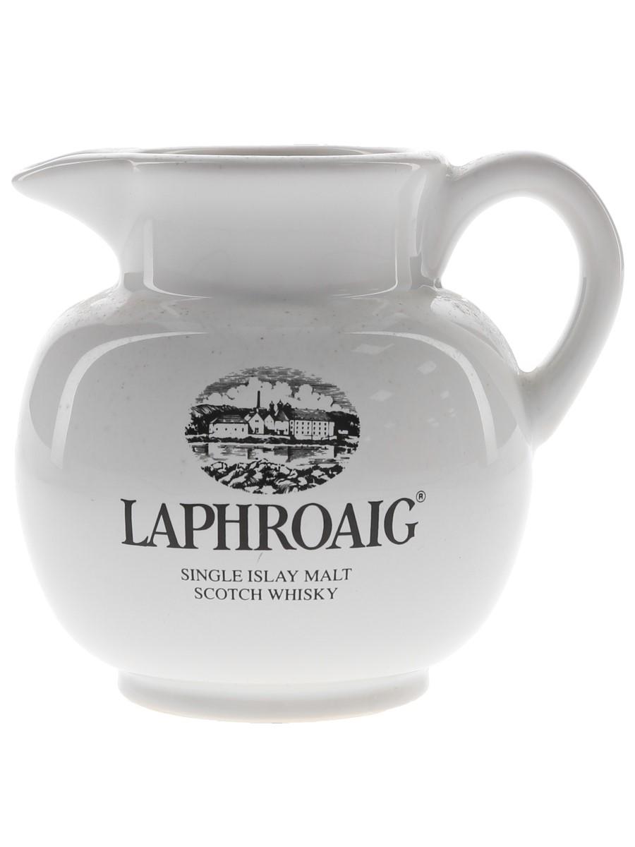 Laphroaig Ceramic Water Jug  10cm Tall