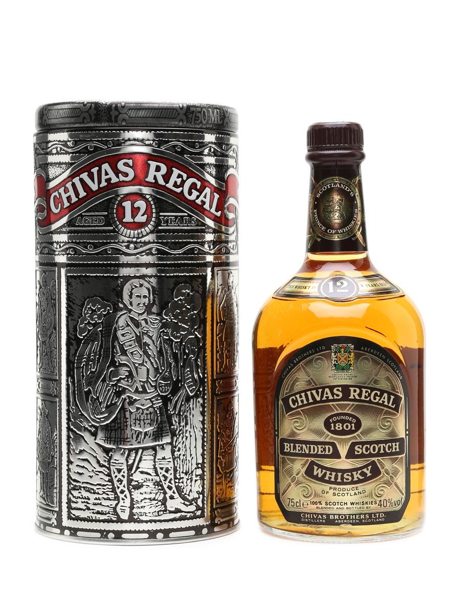 Chivas Regal 12 Year Old Bottled 1980s 75cl