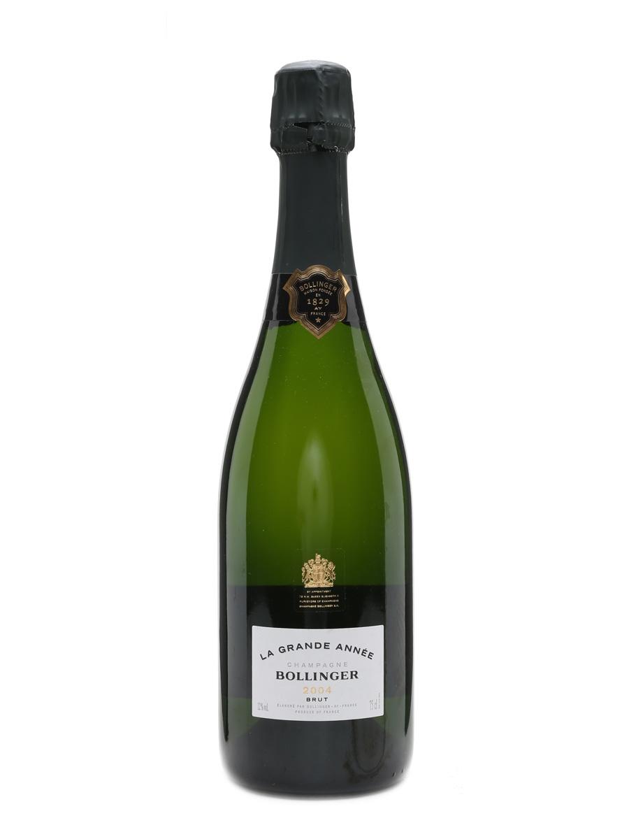 Bollinger 2004 La Grande Annee Champagne 75cl / 12%