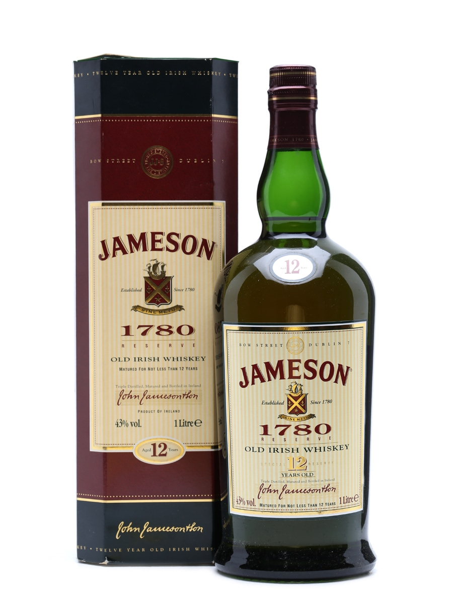 Jameson 12 Years Old Old presentation 1 Litre