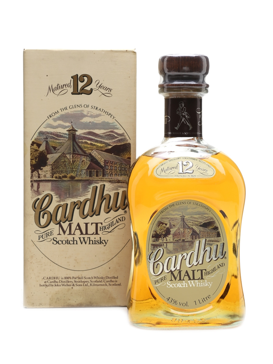 Cardhu 12 Year Old Bottled 1980s 100cl / 43%