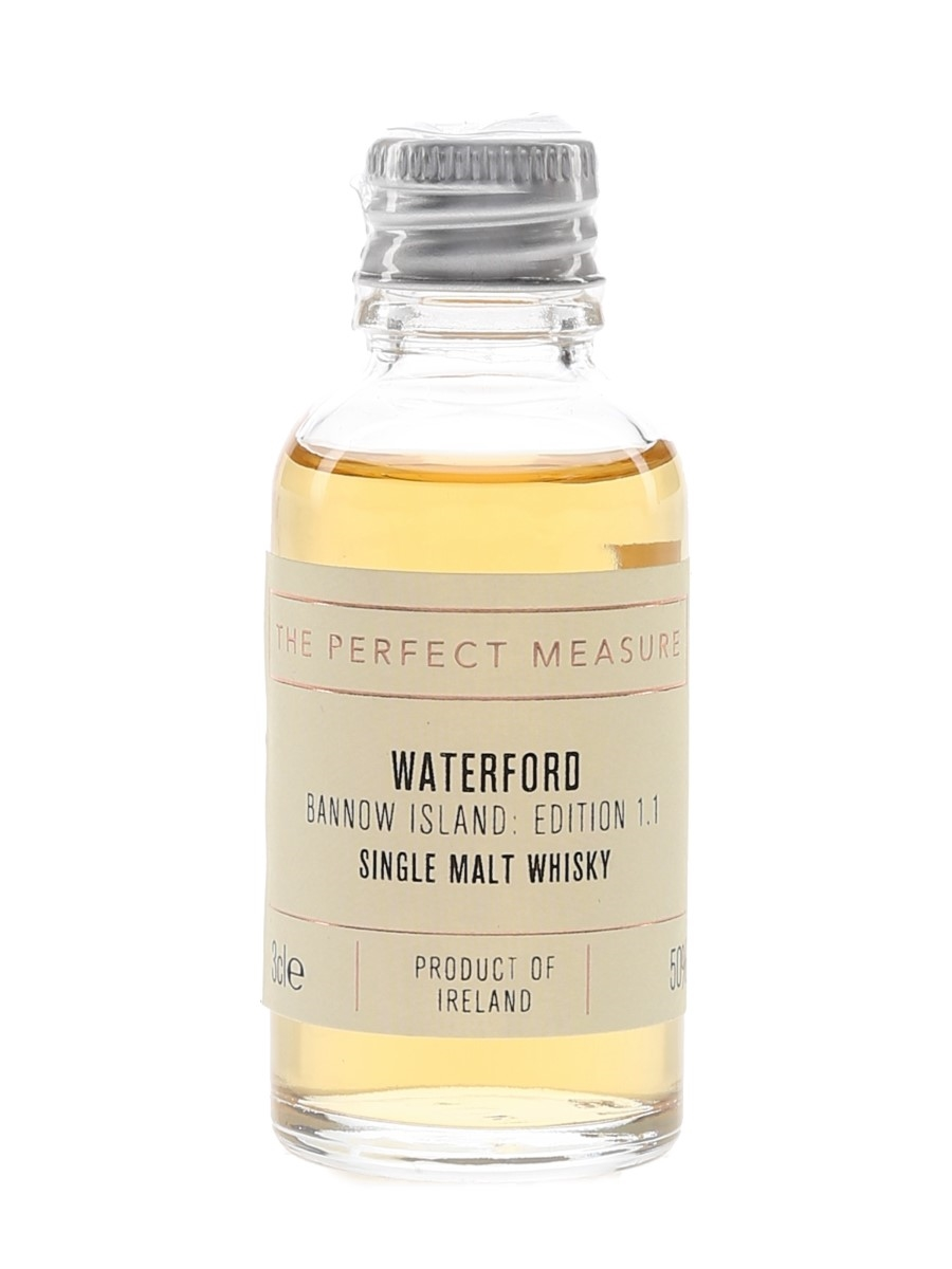 Waterford Bannow Island Edition 1.1 The Whisky Exchange - The Perfect Measure 3cl / 50%