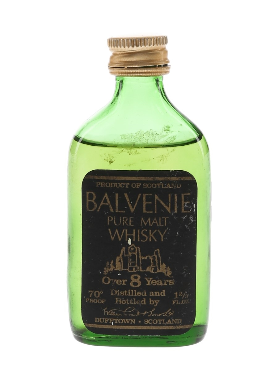 Balvenie 8 Year Old Pure Malt Bottled 1960s-1970s 4.7cl / 40%