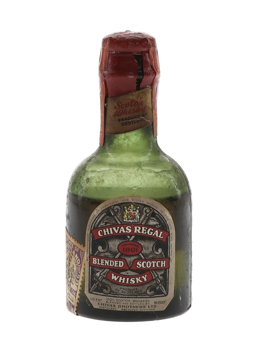 Chivas Regal 12 Year Old Bottled 1950s 4.7cl / 43%