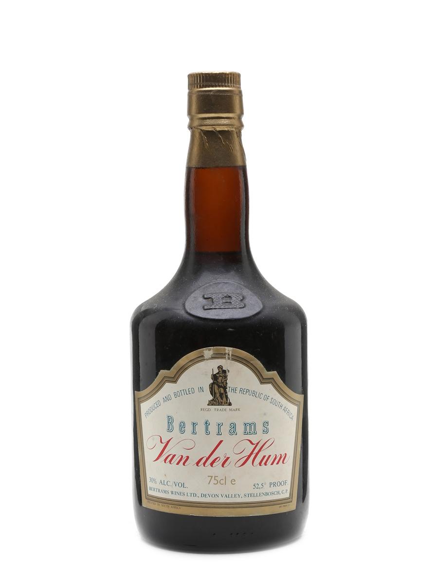Bertram's Van Der Hum Liqueur Bottled 1980s 75cl / 30%