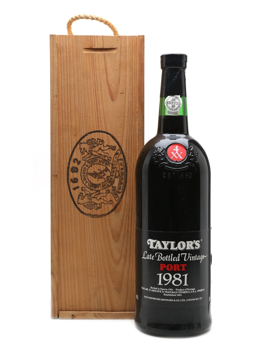 Taylor's 1981 Magnum Late Bottled Vintage 150cl