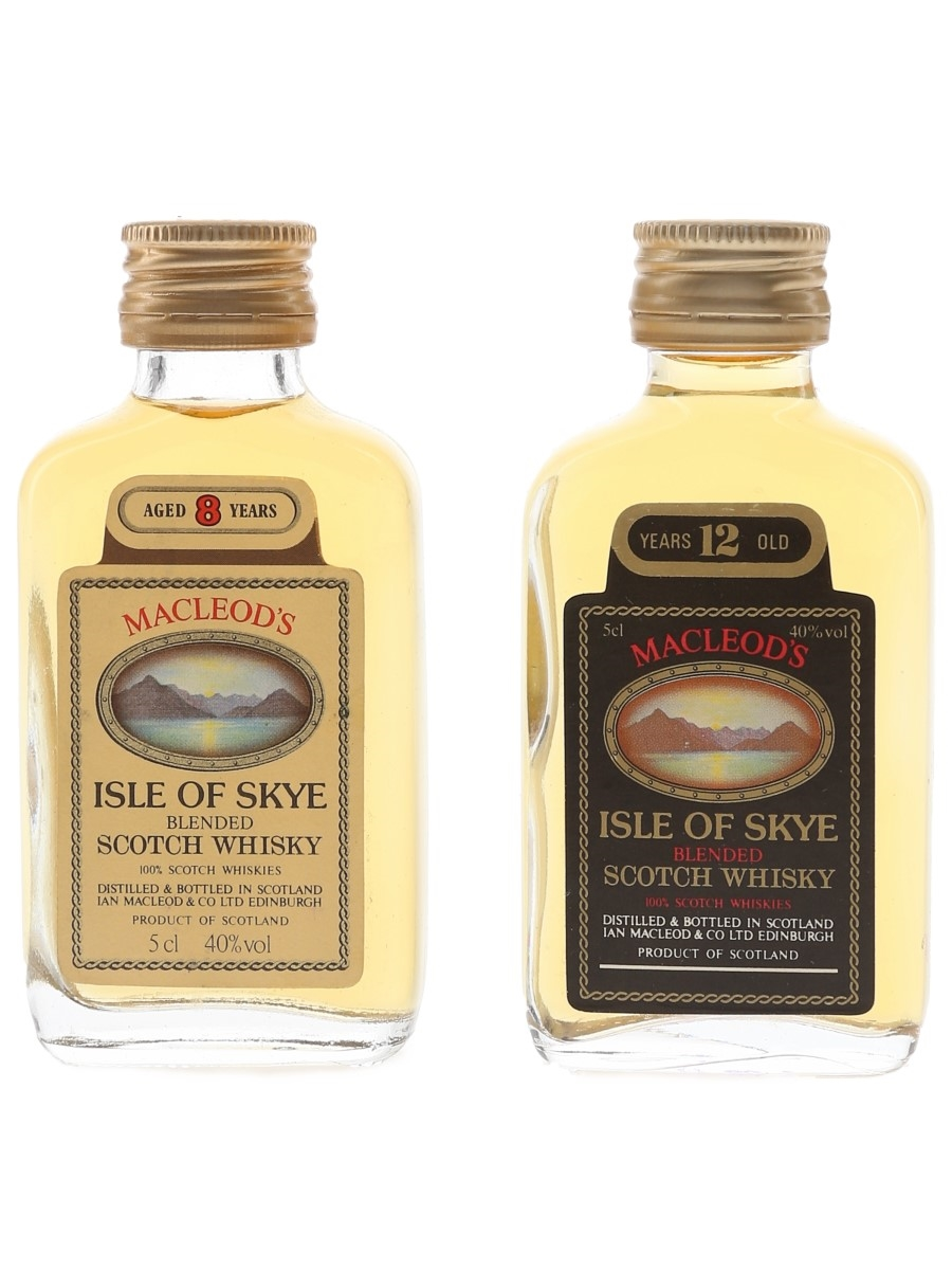 Macleod's Isle Of Skye 8 & 12 Year Old  2 x 5cl / 40%