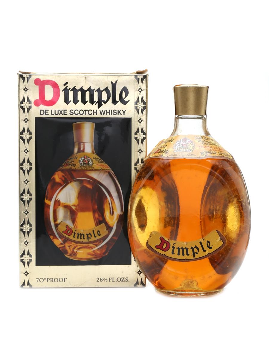Haig's Dimple De Luxe Bottled 1970s 75cl / 40%