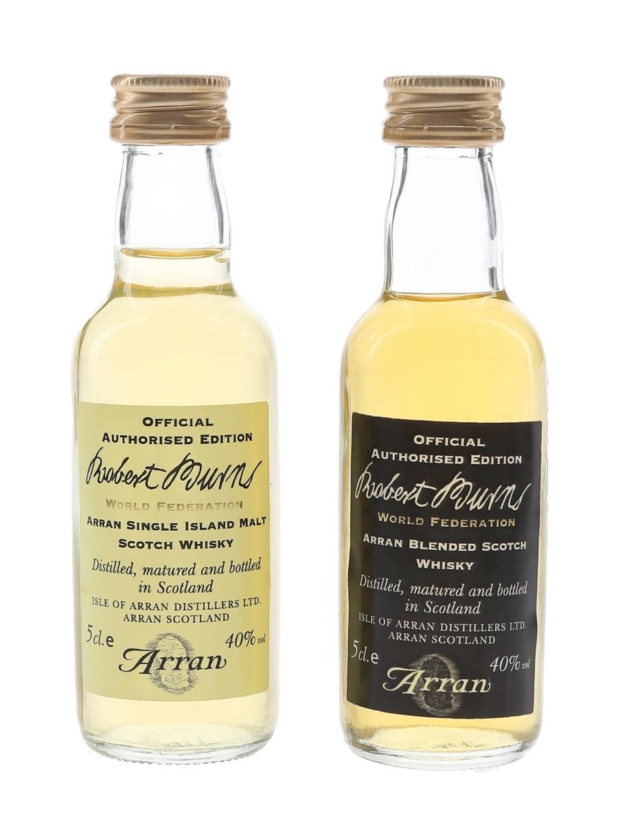 Robert Burns World Federation Isle of Arran Distillers Ltd. 2 x 5cl / 40%
