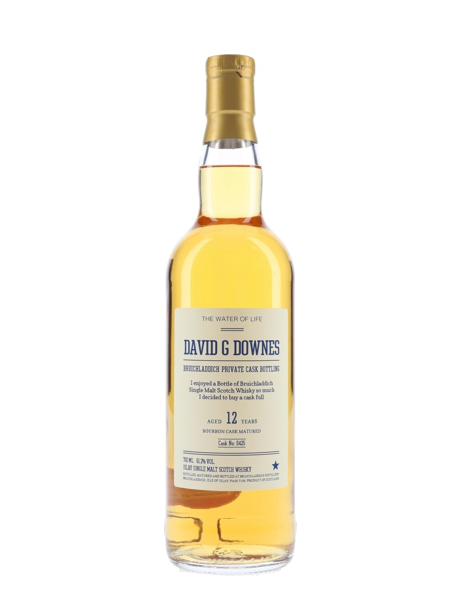 Bruichladdich 2005 12 Year Old Cask 0425 Private Cask Bottling 70cl / 61.2%