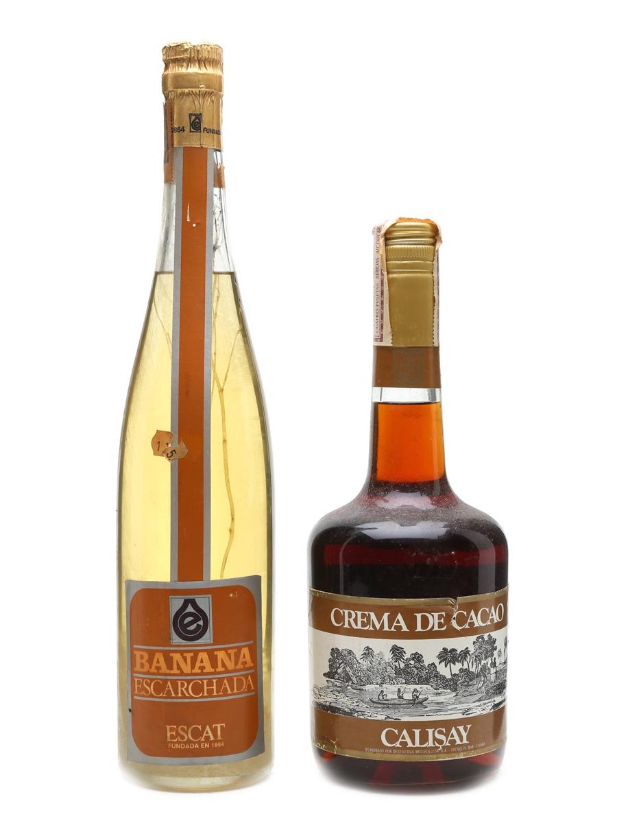 Banana Escarchada & Crema De Cacao  2 x 70cl