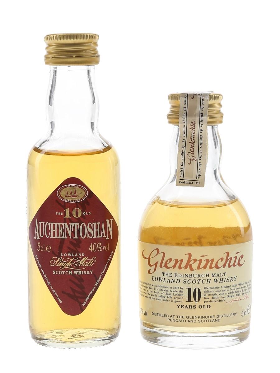 Auchentoshan & Glenkinchie 10 Year Old  2 x 5cl