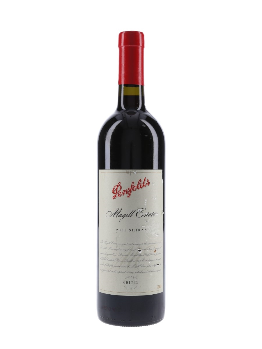 Penfolds 2001 Magill Estate Shiraz  75cl / 14%