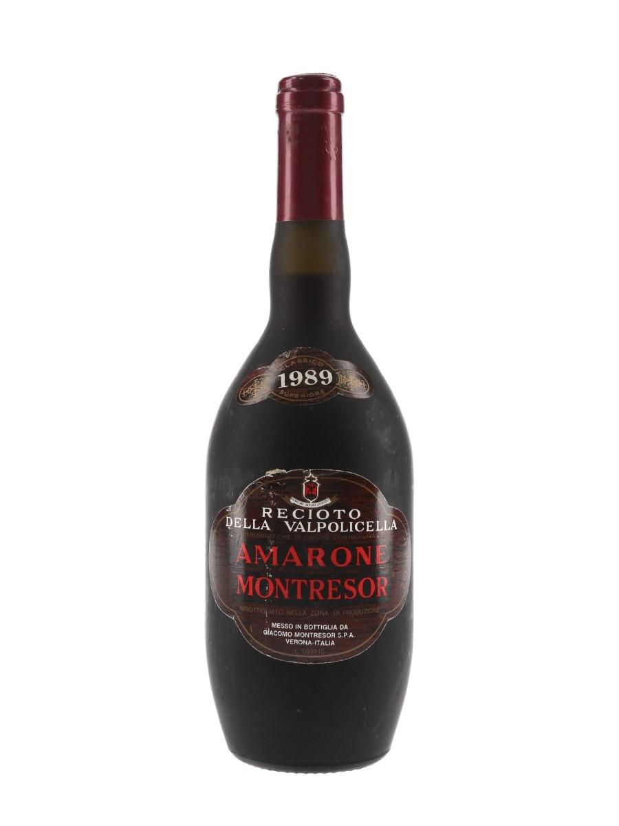 Montresor Amarone 1989 Recioto Della Valpolicella 75cl / 14.5%