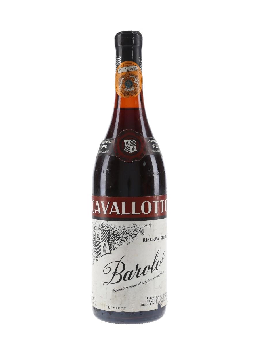 Cavallotto 1974 Barolo Riserva Speciale  75cl / 13.7%