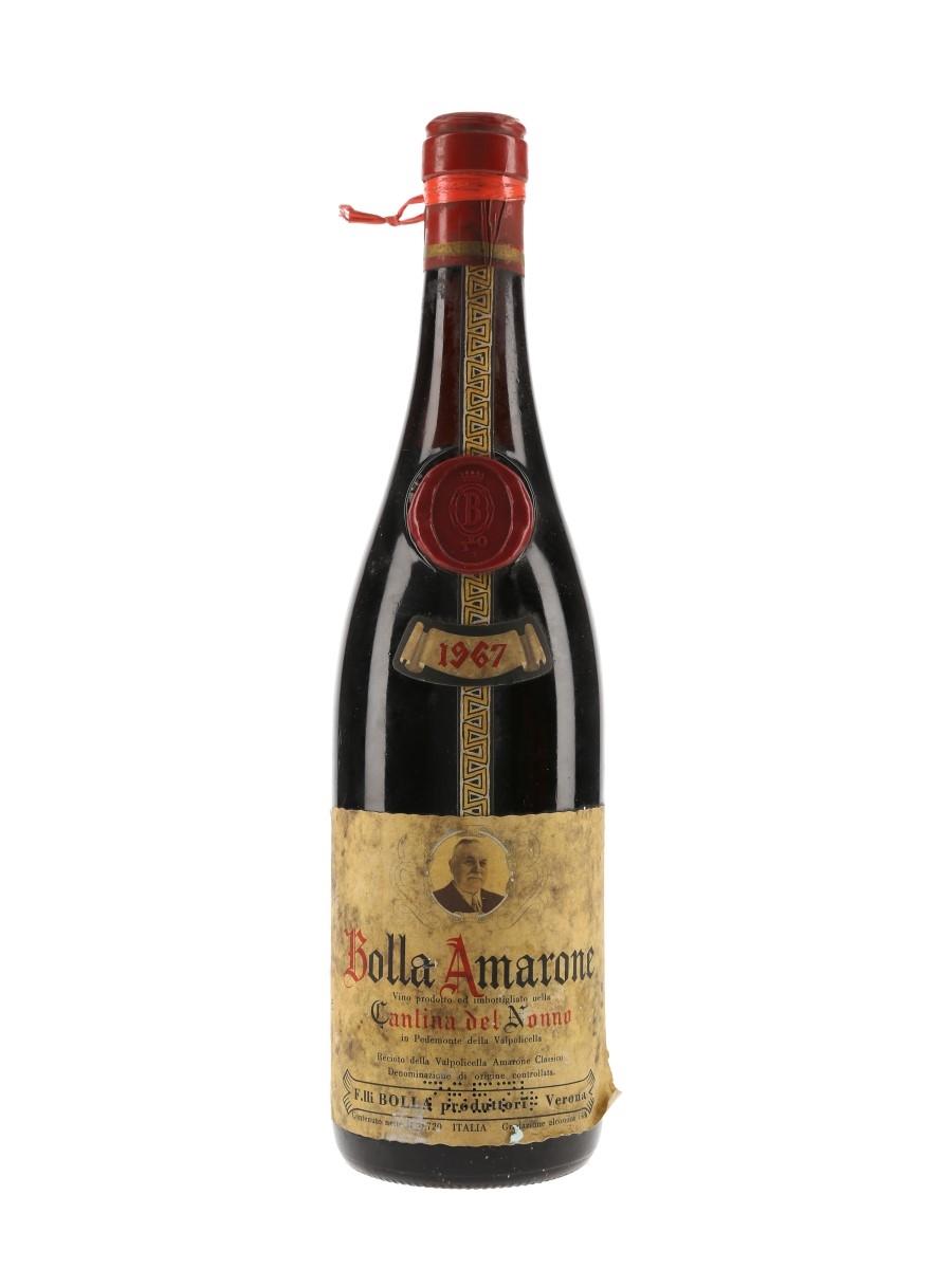 Bolla Recioto Della Valpolicella Amarone 1967 Cantina Del Nonno 72cl / 14%