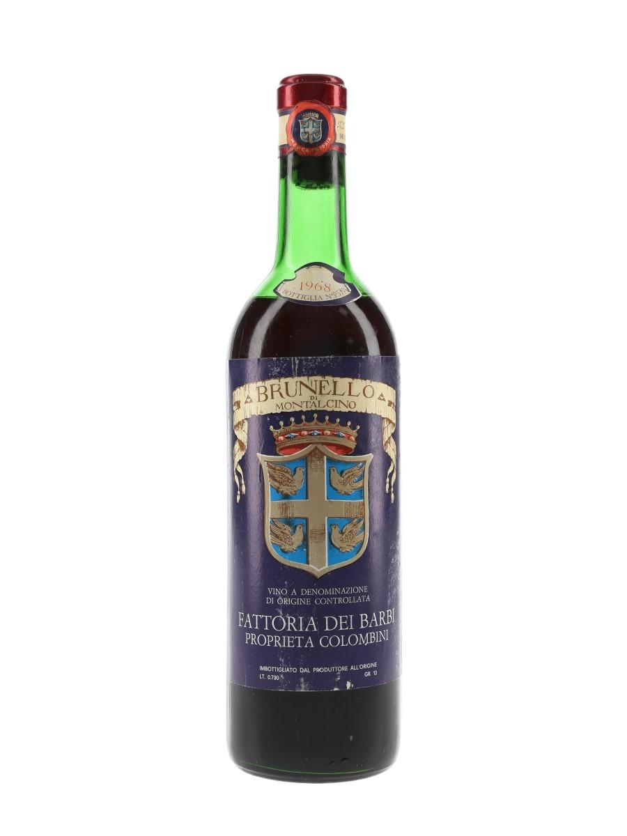 Fattoria Dei Barbi 1968 Brunello Di Montalcino 73cl / 13%