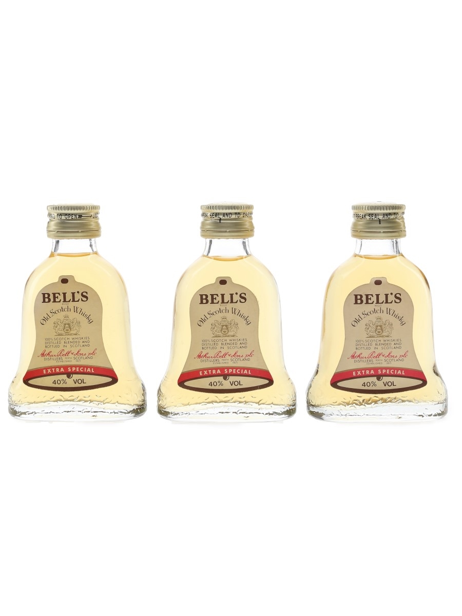 Bell's Extra Special Bottled 1980s 3 x 5cl / 40%