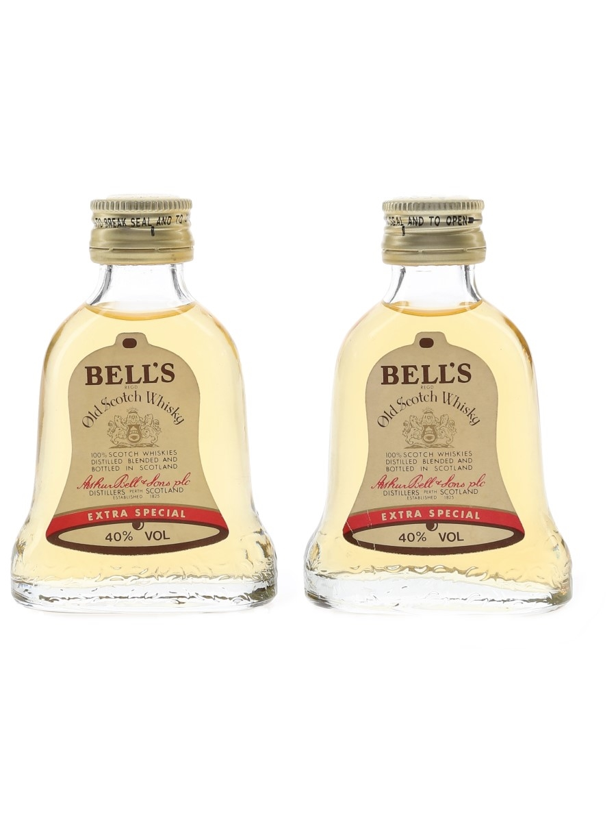 Bell's Extra Special Bottled 1980s 2 x 5cl / 40%