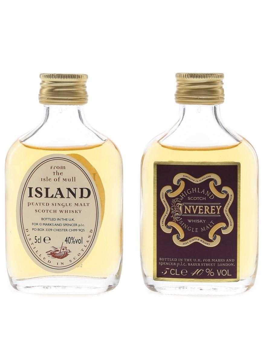 Marks & Spencer Whisky  2 x 5cl / 40%