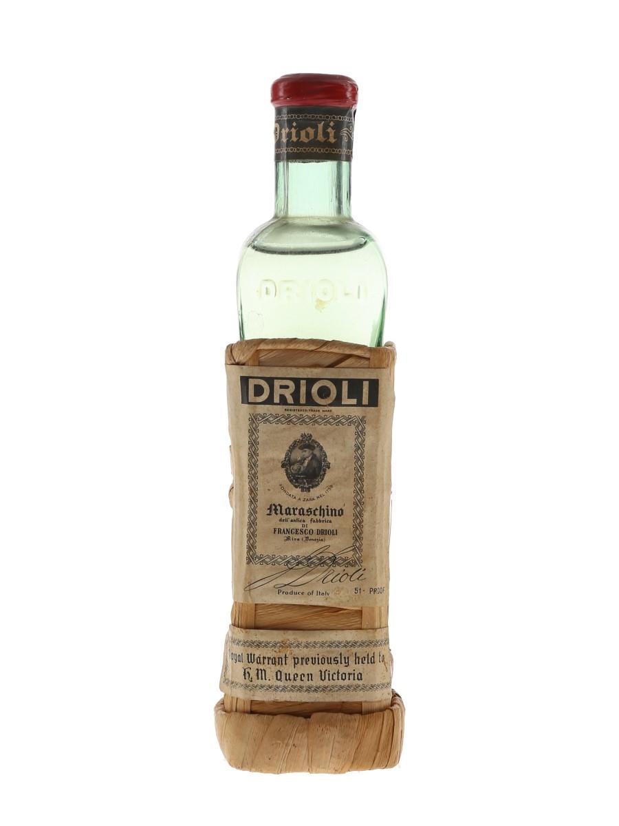 Drioli Maraschino Bottled 1960s 10cl / 29%