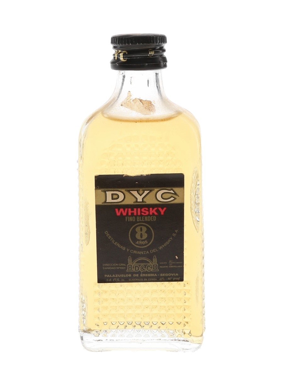 DYC 8 Year Old Spanish Blended Whisky 5cl / 43%