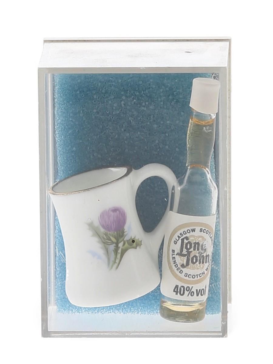 Long John Novelty Whisky Miniature The World's Smallest Bottles Of Whisky <1cl / 40%