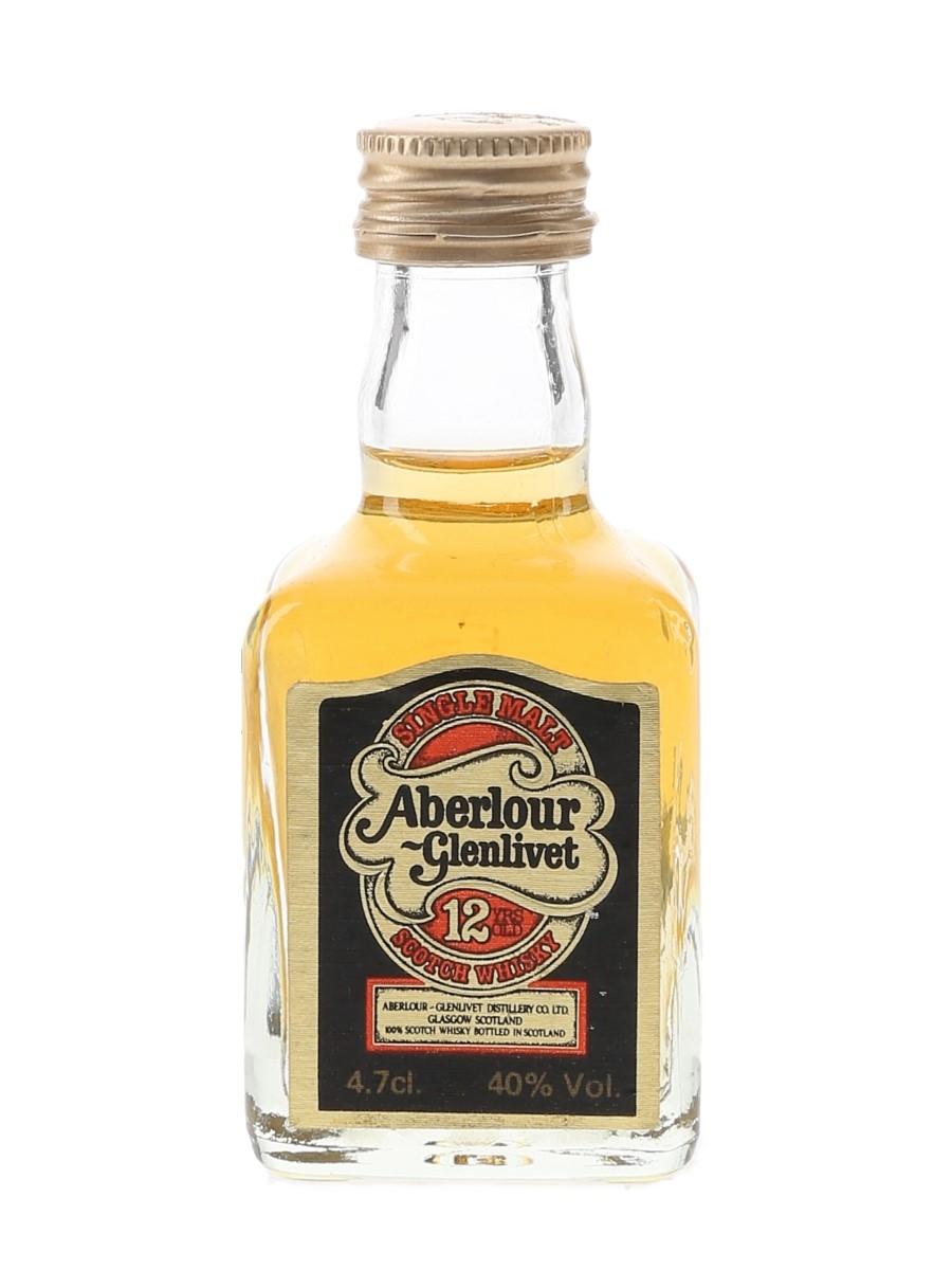 Aberlour Glenlivet 12 Year Old Bottled 1980s 4.7cl / 40%