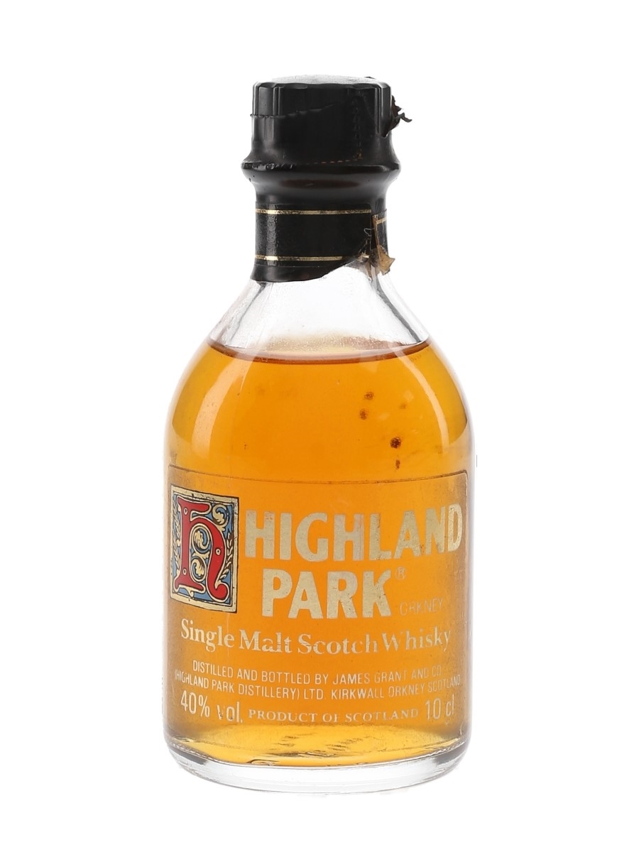 Highland Park 12 Year Old Bottled 1980s 10cl / 40%