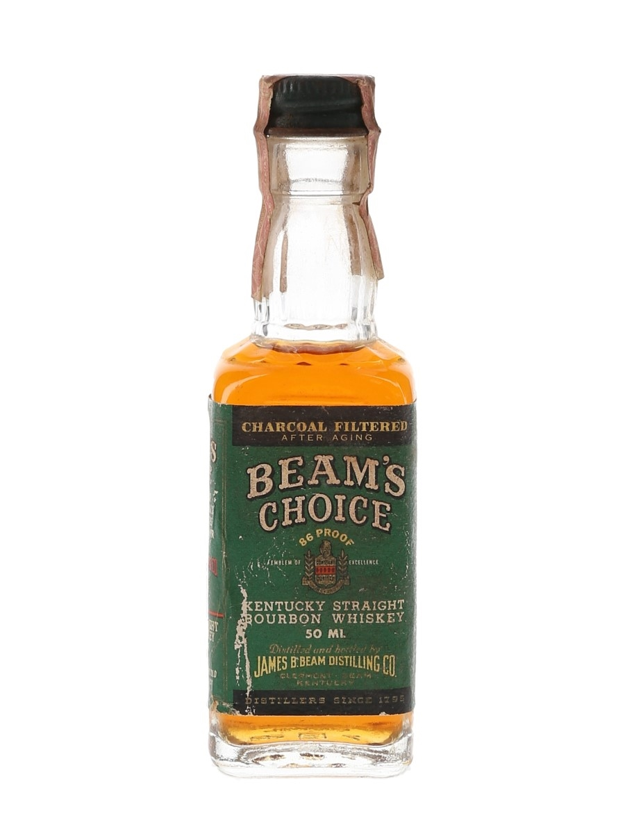 Beam's Choice 8 Year Old Bottled 1970s-1980s 5cl / 43%