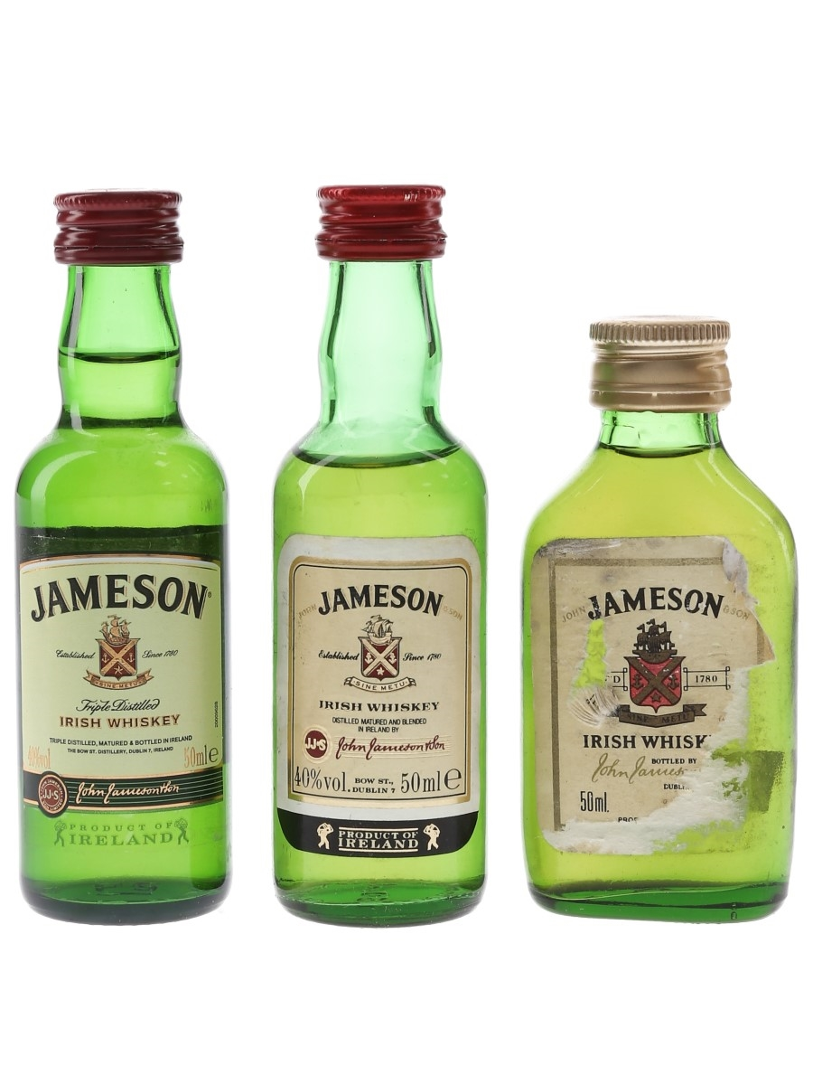 Jameson  3 x 5cl / 40%
