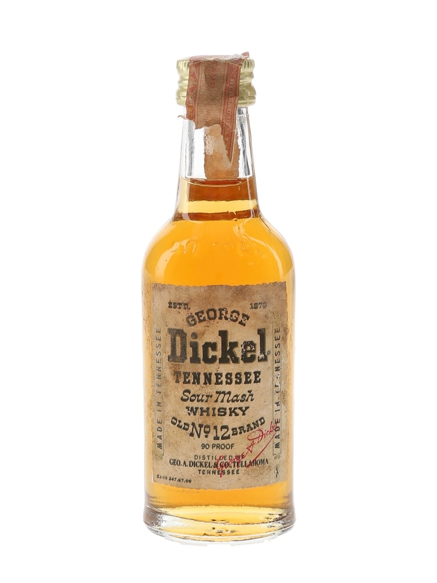 George Dickel No.12 Brand Bottled 1980s 5cl / 45%