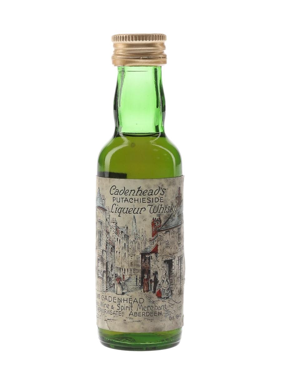 Cadenhead's Putachieside Bottled 1980s 5cl / 43%