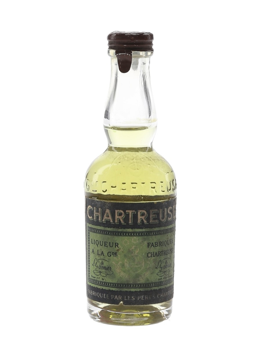 Chartreuse Green Bottled 1956-1964 3cl