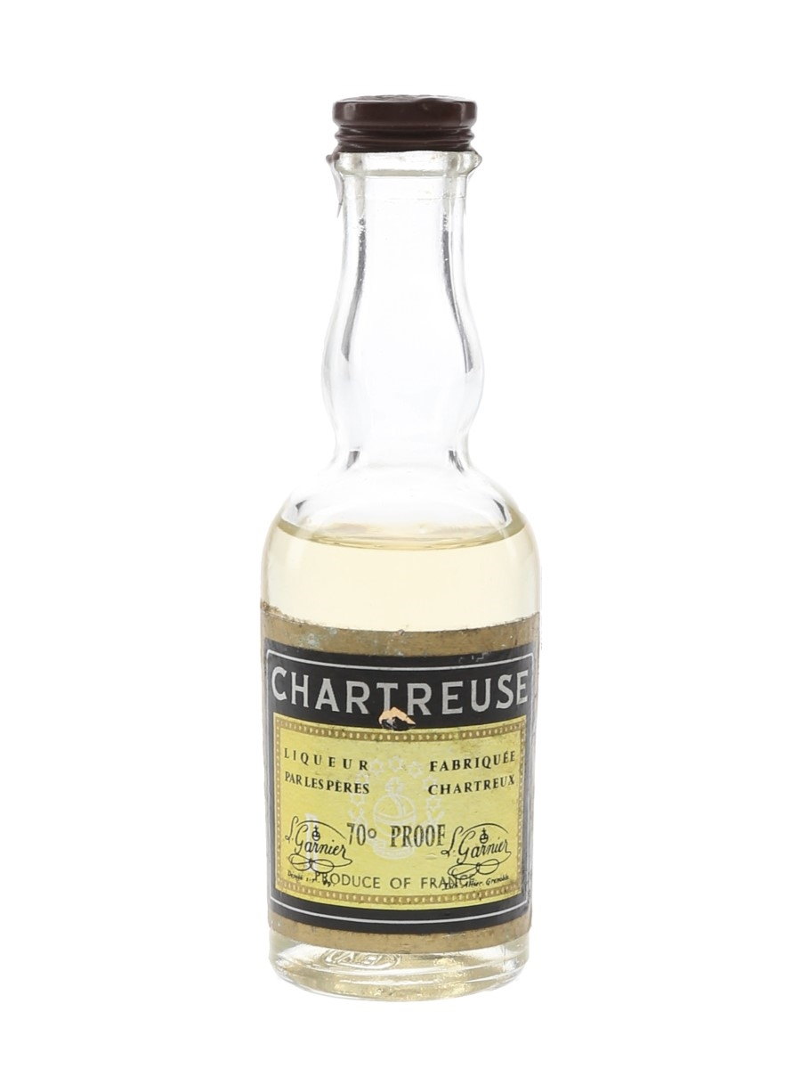 Chartreuse Yellow Bottled 1970s 3cl / 40%