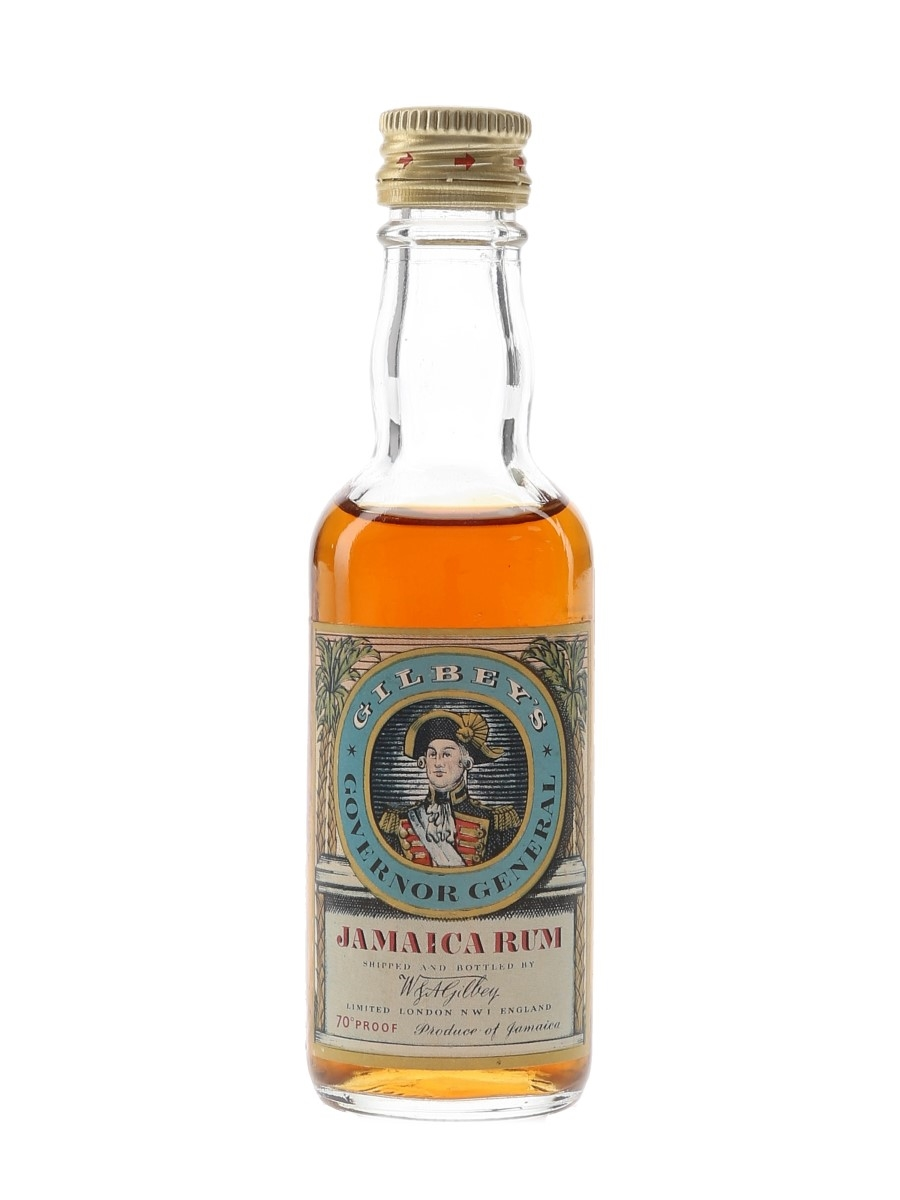 Gilbey's Governor General Bottled 1970s 5cl / 40%
