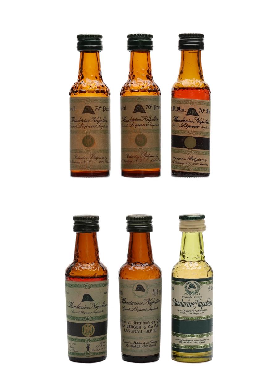 Mandarine Napoleon Grande Imperiale Liqueur  6 x 3cl