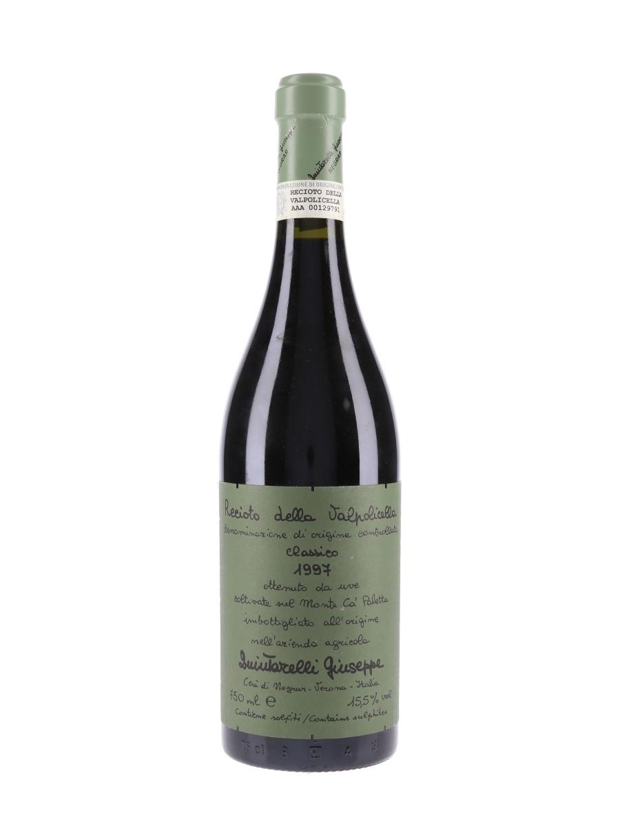 Recioto Della Valpolicella 1997 Giuseppe Quintarelli 75cl / 15.5%
