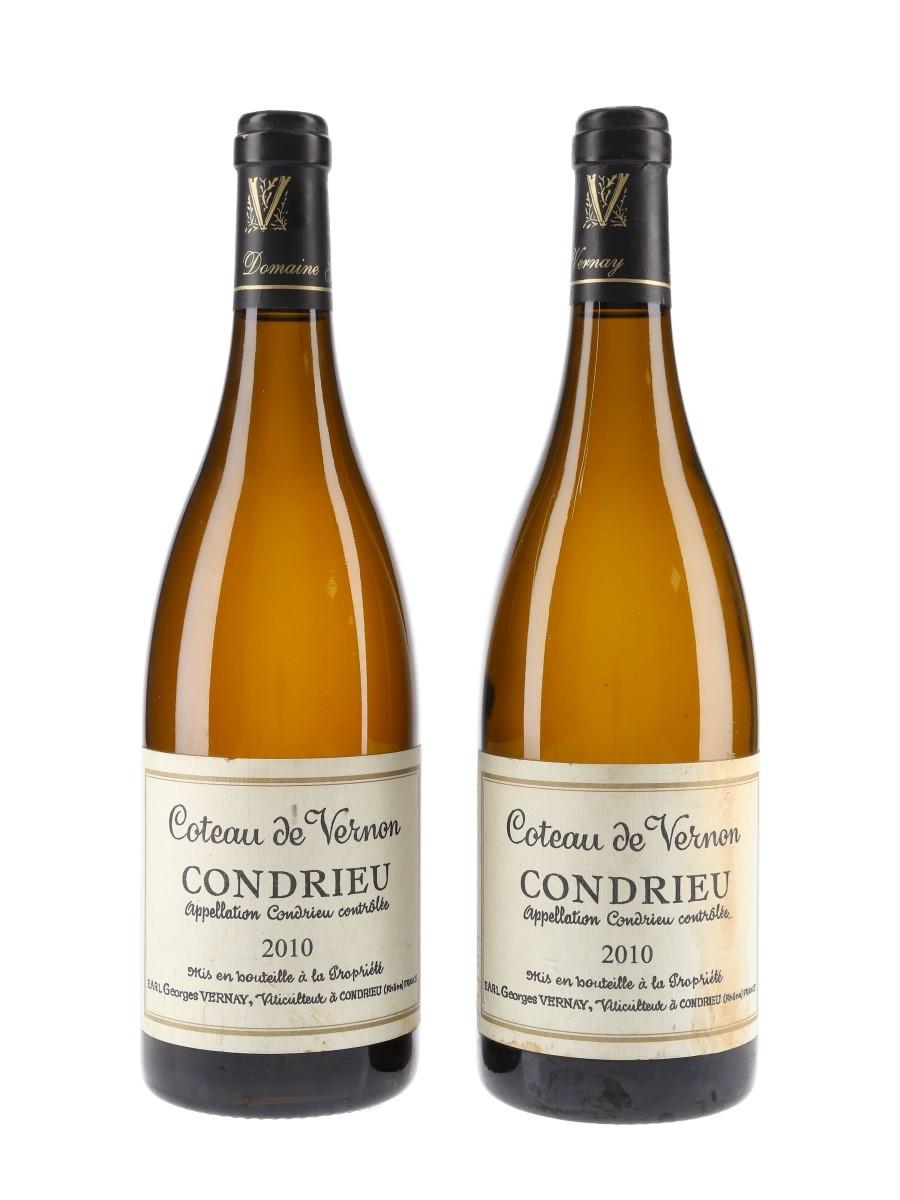 Condrieu Coteau De Vernon 2010 Georges Vernay 2 x 75cl / 14.5%