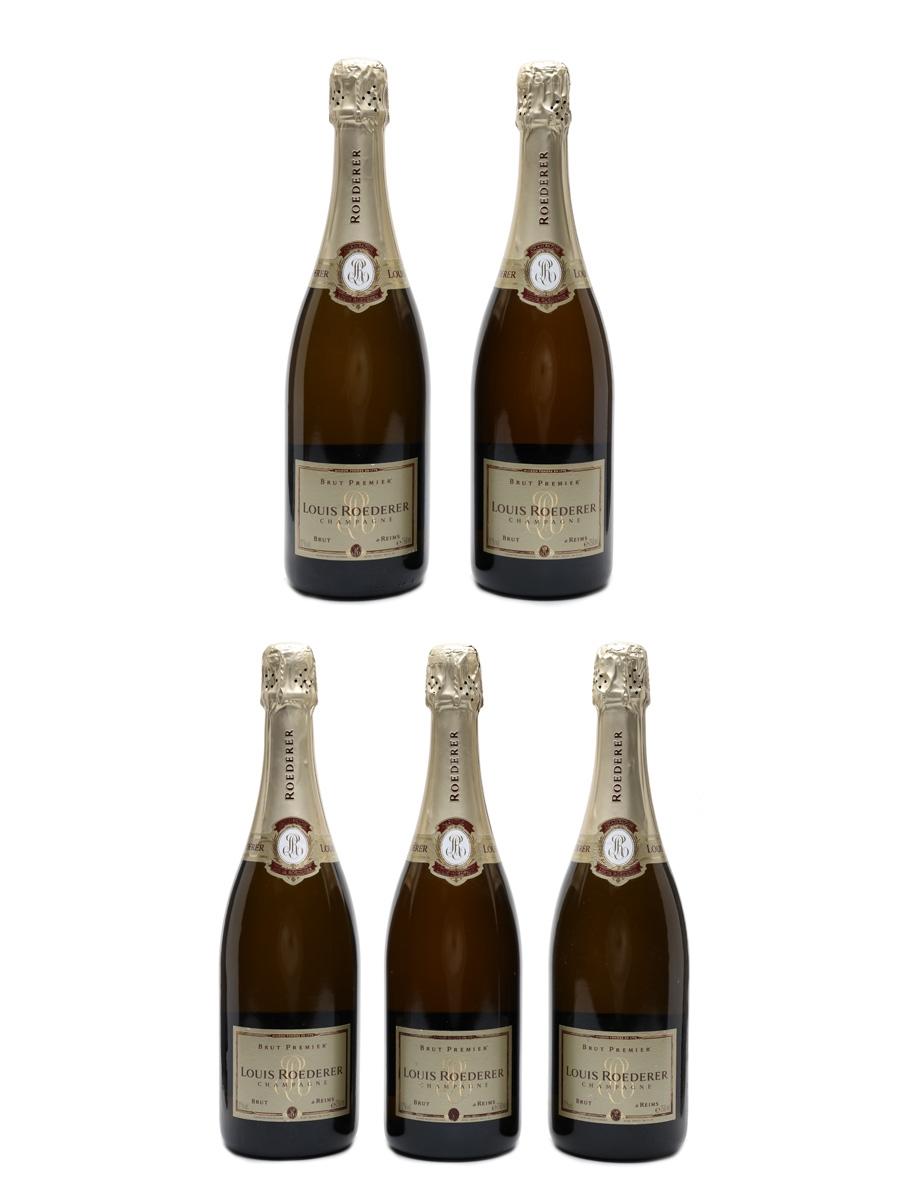 Louis Roederer Brut Premier NV Champagne 5 x 75cl / 12%