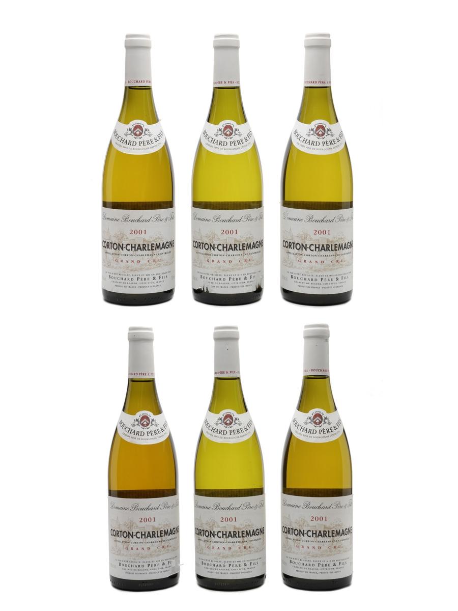 Corton Charlemagne Grand Cru 2001 Bouchard Pere & Fils 6 x 75cl / 13.5%