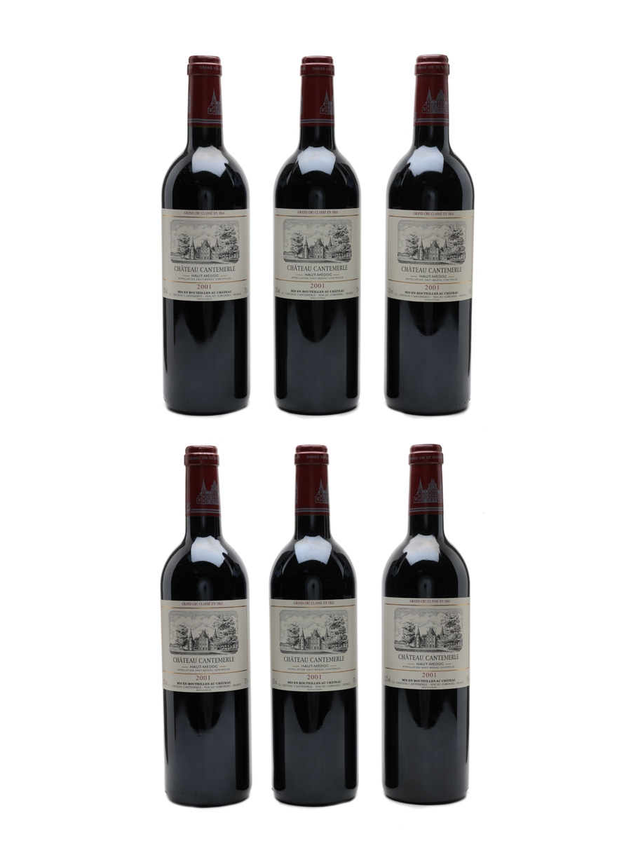 Chateau Cantemerle 2001 Haut Medoc 6 x 75cl / 12.5%
