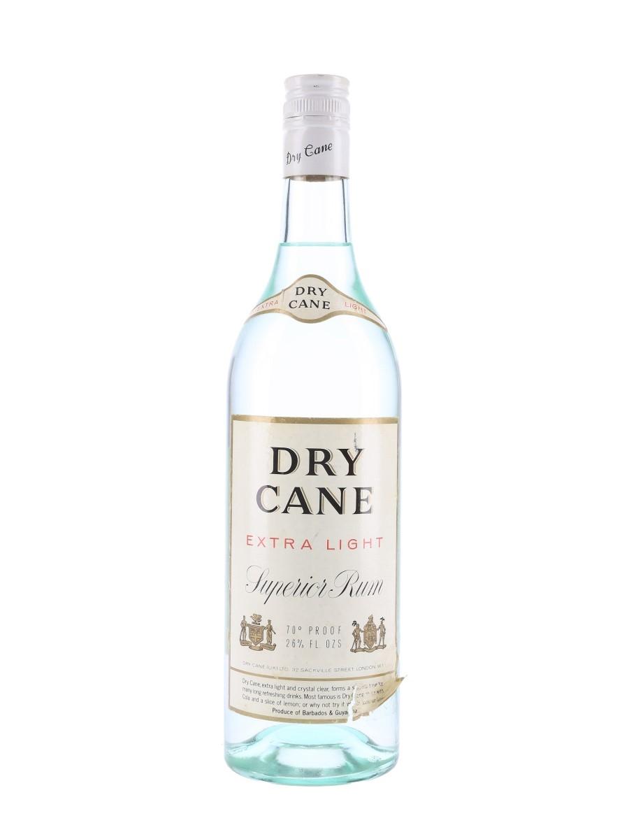 Dry Cane Extra Light Rum Bottled 1970s 75.7cl / 40%