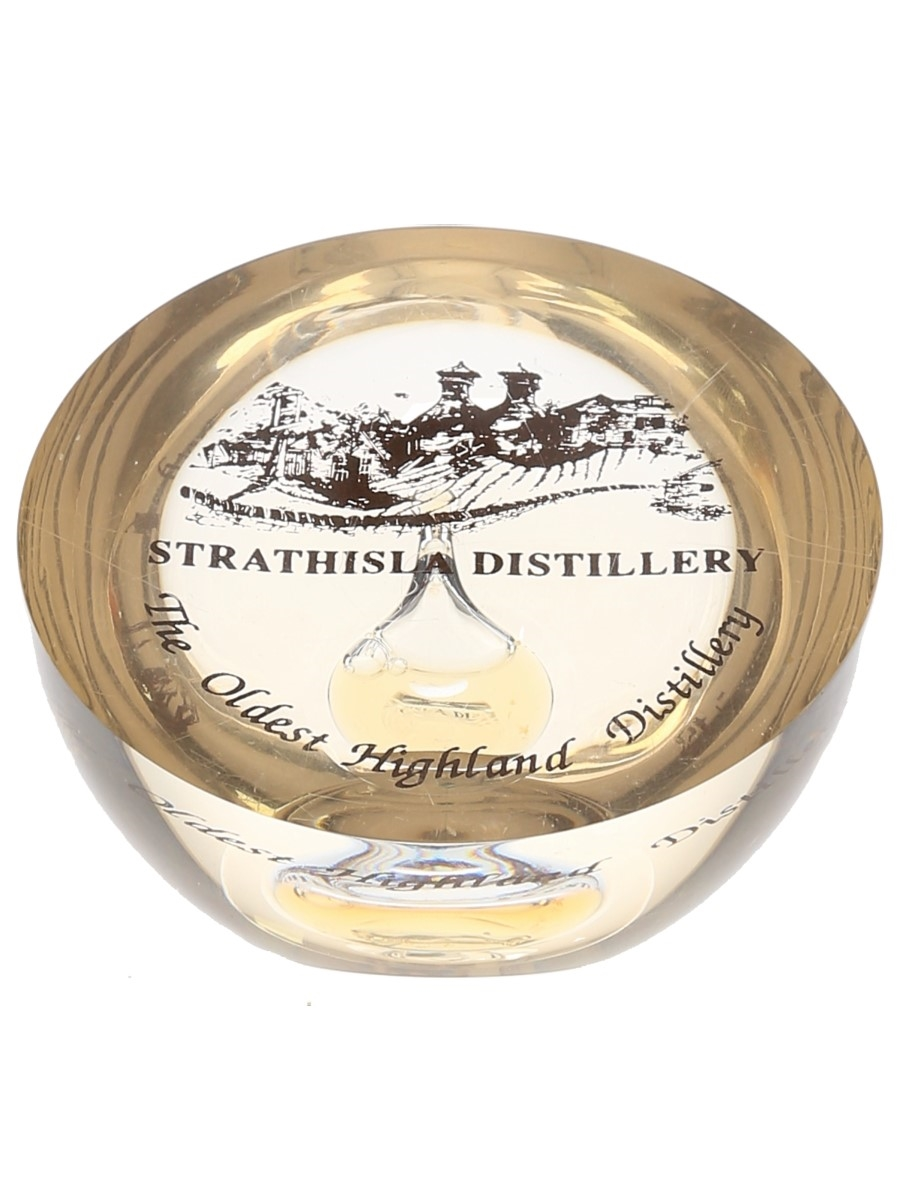 Strathisla Distillery Paperweight