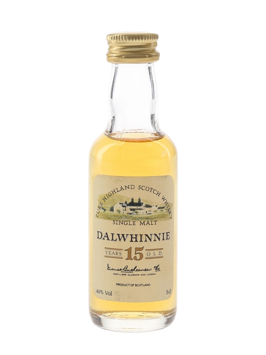 Dalwhinnie 15 Year Old Bottled 1980s 5cl / 40%