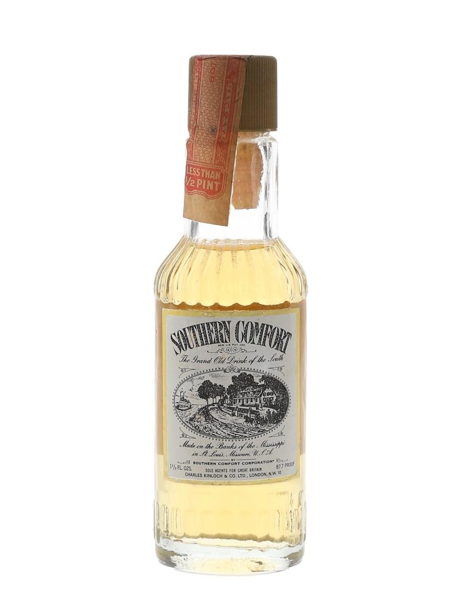 Southern Comfort Bottled 1970s 4.7cl / 50%