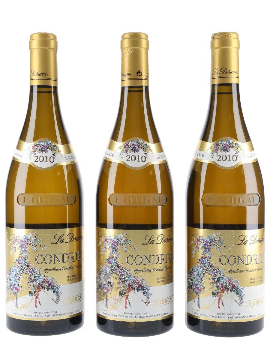 Guigal 2010 Condrieu La Doriane  3 x 75cl / 14.5%