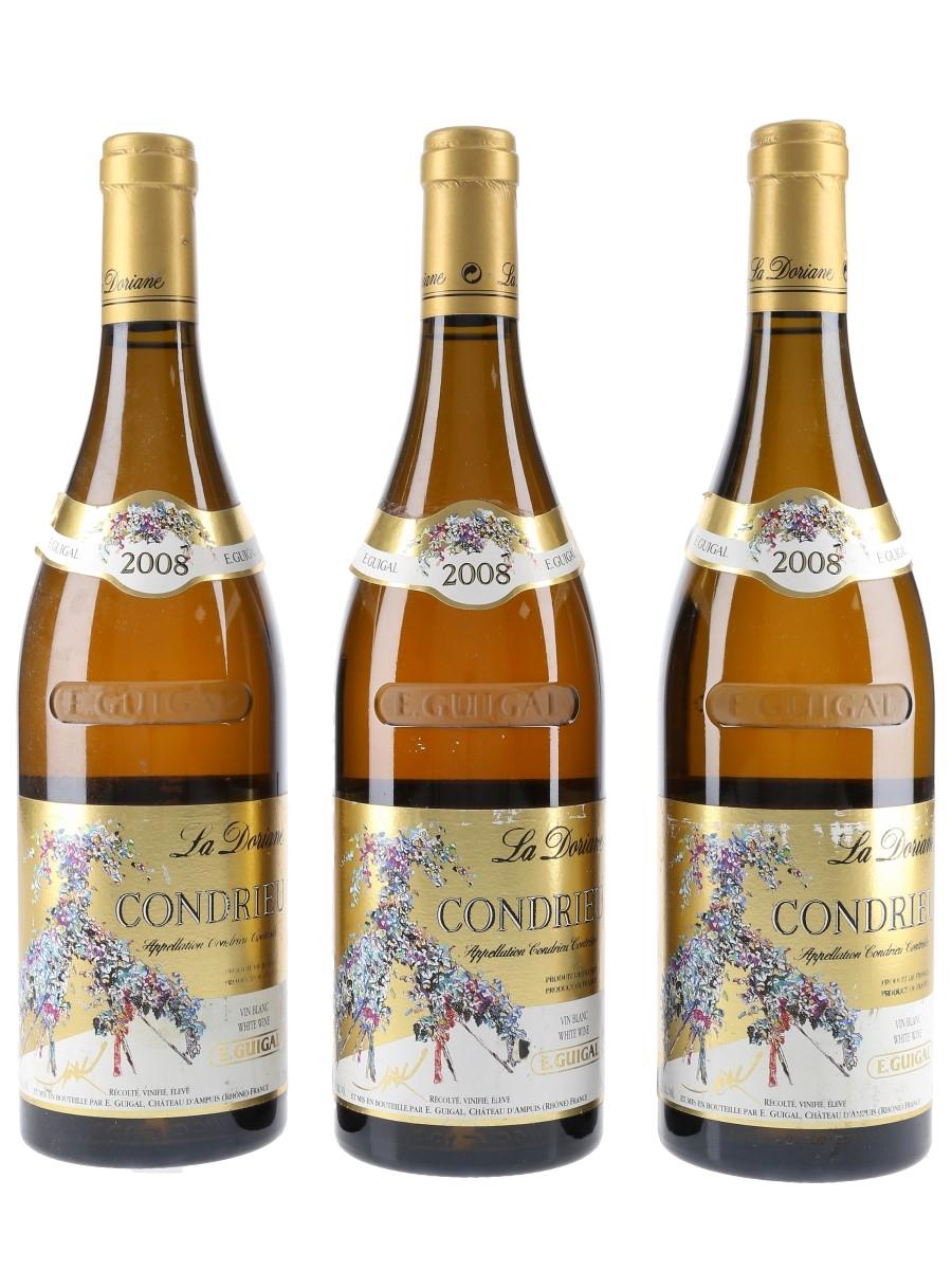 Guigal 2008 Condrieu La Doriane  3 x 75cl / 13.5%