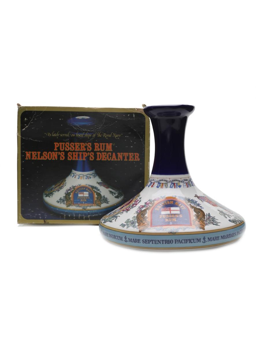 Pusser's British Navy Rum Decanter 100cl / 55%