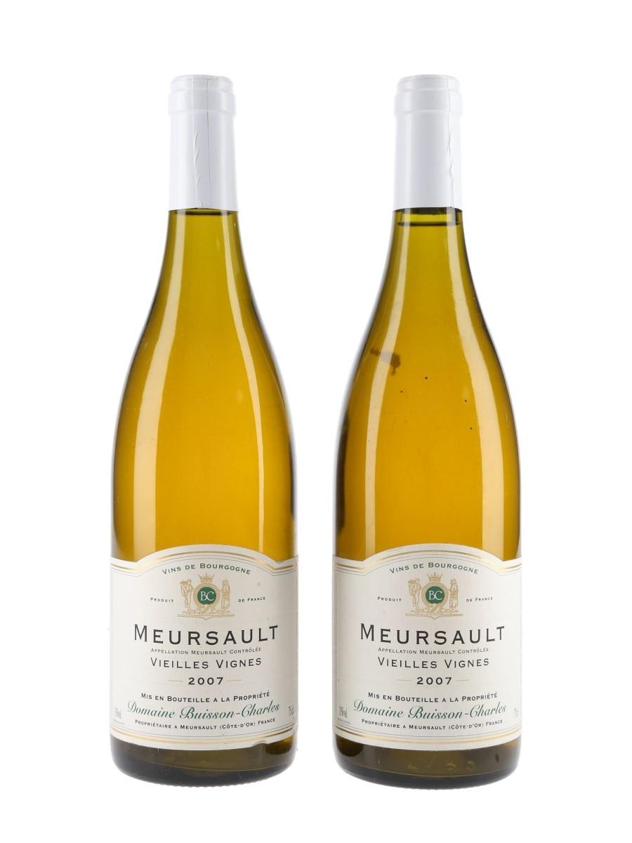 Meursault Vielles Vignes 2007 Domaine Buisson-Charles 2 x 75cl / 13%